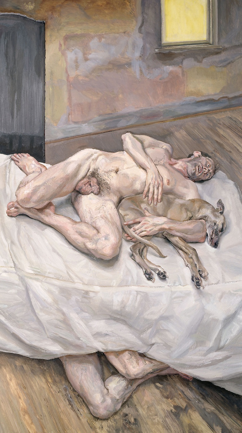 Lucian Freud - Art Eight Legs